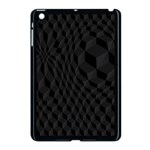 Pattern Dark Texture Background Apple iPad Mini Case (Black) Front