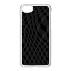 Pattern Dark Texture Background Apple Iphone 7 Seamless Case (white) by Simbadda