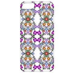 Floral Ornament Baby Girl Design Apple Iphone 5 Classic Hardshell Case by Simbadda