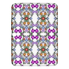 Floral Ornament Baby Girl Design Samsung Galaxy Tab 3 (10 1 ) P5200 Hardshell Case  by Simbadda