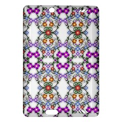 Floral Ornament Baby Girl Design Amazon Kindle Fire Hd (2013) Hardshell Case by Simbadda