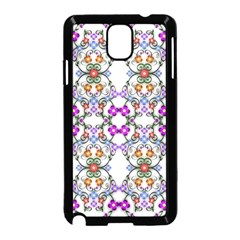 Floral Ornament Baby Girl Design Samsung Galaxy Note 3 Neo Hardshell Case (black) by Simbadda