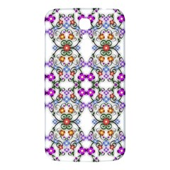 Floral Ornament Baby Girl Design Samsung Galaxy Mega I9200 Hardshell Back Case by Simbadda