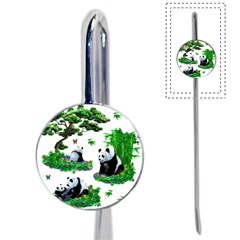 Cute Panda Cartoon Book Mark by Simbadda