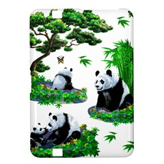Cute Panda Cartoon Kindle Fire Hd 8 9  by Simbadda