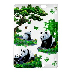 Cute Panda Cartoon Kindle Fire Hdx 8 9  Hardshell Case by Simbadda