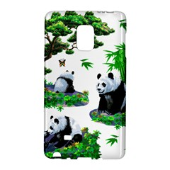 Cute Panda Cartoon Galaxy Note Edge by Simbadda