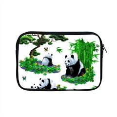 Cute Panda Cartoon Apple Macbook Pro 15  Zipper Case by Simbadda