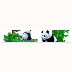 Cute Panda Cartoon Small Bar Mats