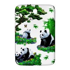 Cute Panda Cartoon Samsung Galaxy Note 8 0 N5100 Hardshell Case  by Simbadda