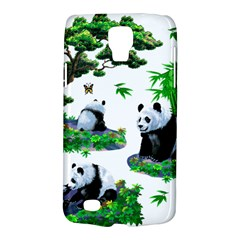 Cute Panda Cartoon Galaxy S4 Active by Simbadda