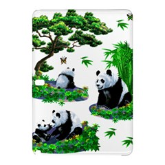 Cute Panda Cartoon Samsung Galaxy Tab Pro 12 2 Hardshell Case by Simbadda