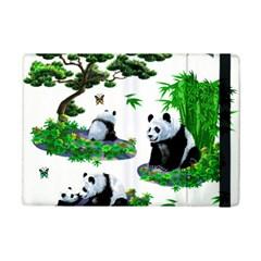 Cute Panda Cartoon Ipad Mini 2 Flip Cases by Simbadda