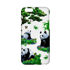 Cute Panda Cartoon Apple Iphone 6/6s Hardshell Case by Simbadda
