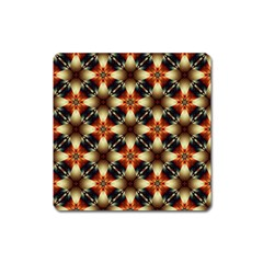Kaleidoscope Image Background Square Magnet by Simbadda