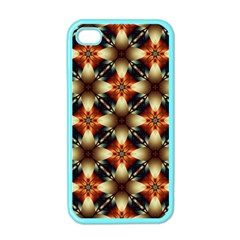 Kaleidoscope Image Background Apple Iphone 4 Case (color) by Simbadda