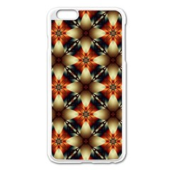 Kaleidoscope Image Background Apple Iphone 6 Plus/6s Plus Enamel White Case by Simbadda