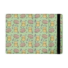 Cute Hamster Pattern Apple Ipad Mini Flip Case by Simbadda
