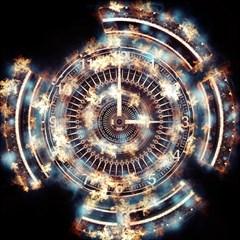 Science Fiction Background Fantasy Magic Photo Cubes by Simbadda