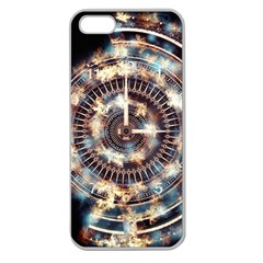 Science Fiction Background Fantasy Apple Seamless Iphone 5 Case (clear) by Simbadda