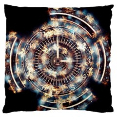 Science Fiction Background Fantasy Standard Flano Cushion Case (two Sides) by Simbadda