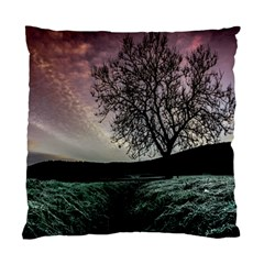 Sky Landscape Nature Clouds Standard Cushion Case (one Side) by Simbadda