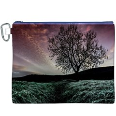 Sky Landscape Nature Clouds Canvas Cosmetic Bag (XXXL) by Simbadda