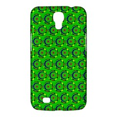 Green Abstract Art Circles Swirls Stars Samsung Galaxy Mega 6 3  I9200 Hardshell Case by Simbadda