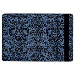 Damask2 Black Marble & Blue Denim (r) Apple Ipad Air 2 Flip Case by trendistuff