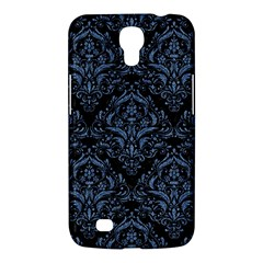 Damask1 Black Marble & Blue Denim Samsung Galaxy Mega 6 3  I9200 Hardshell Case by trendistuff