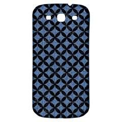 Circles3 Black Marble & Blue Denim (r) Samsung Galaxy S3 S Iii Classic Hardshell Back Case by trendistuff