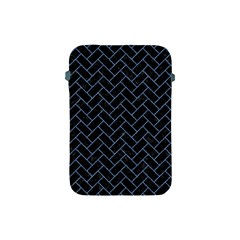 Brick2 Black Marble & Blue Denim Apple Ipad Mini Protective Soft Case by trendistuff