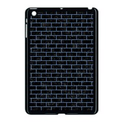 Brick1 Black Marble & Blue Denim Apple Ipad Mini Case (black) by trendistuff