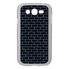 Brick1 Black Marble & Blue Denim Samsung Galaxy Grand Duos I9082 Case (white) by trendistuff