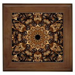 3d Fractal Art Framed Tiles by Simbadda