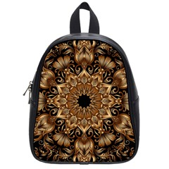 3d Fractal Art School Bags (small)  by Simbadda
