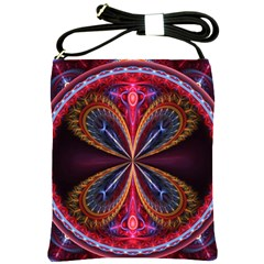 3d Abstract Ring Shoulder Sling Bags by Simbadda