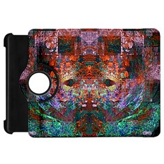 Modern Abstract Geometric Art Rainbow Colors Kindle Fire Hd 7  by CrypticFragmentsColors