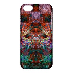 Modern Abstract Geometric Art Rainbow Colors Apple Iphone 5c Hardshell Case by CrypticFragmentsColors