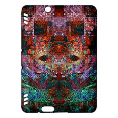 Modern Abstract Geometric Art Rainbow Colors Kindle Fire Hdx Hardshell Case