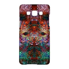 Modern Abstract Geometric Art Rainbow Colors Samsung Galaxy A5 Hardshell Case
