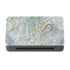 Paisley Boho Hippie Retro Fashion Print Pattern  Memory Card Reader With Cf by CrypticFragmentsColors