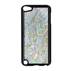 Paisley Boho Hippie Retro Fashion Print Pattern  Apple iPod Touch 5 Case (Black) by CrypticFragmentsColors