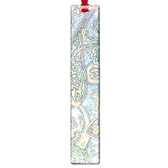 Paisley Boho Hippie Retro Fashion Print Pattern  Large Book Marks by CrypticFragmentsColors