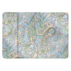Paisley Boho Hippie Retro Fashion Print Pattern  Samsung Galaxy Tab 8 9  P7300 Flip Case by CrypticFragmentsColors
