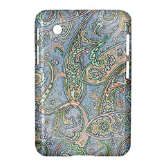Paisley Boho Hippie Retro Fashion Print Pattern  Samsung Galaxy Tab 2 (7 ) P3100 Hardshell Case  by CrypticFragmentsColors