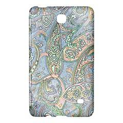 Paisley Boho Hippie Retro Fashion Print Pattern  Samsung Galaxy Tab 4 (8 ) Hardshell Case  by CrypticFragmentsColors