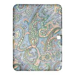 Paisley Boho Hippie Retro Fashion Print Pattern  Samsung Galaxy Tab 4 (10 1 ) Hardshell Case  by CrypticFragmentsColors