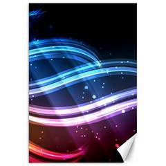 Illustrations Color Purple Blue Circle Space Canvas 20  X 30   by Alisyart