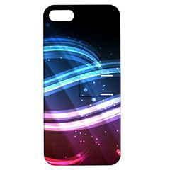 Illustrations Color Purple Blue Circle Space Apple Iphone 5 Hardshell Case With Stand by Alisyart